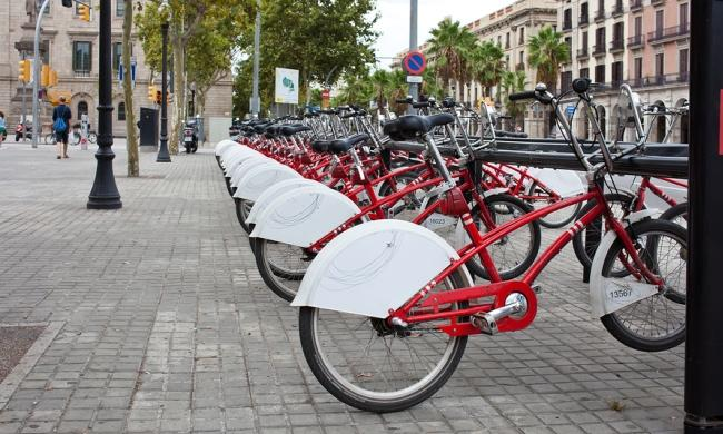 Getting Around Is Easy in Bike-Friendly Barcelona
